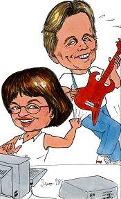Cindy and David