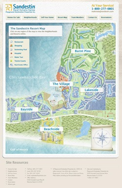 Sandestin Golf And Beach Resort Map The Best Beaches In World