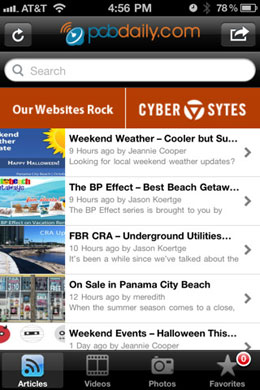 PCB daily iPhone Application